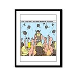 Viking Graduation Framed Panel Print
