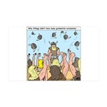 Viking Graduation 35x21 Wall Decal