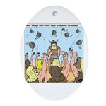 Viking Graduation Ornament (Oval)