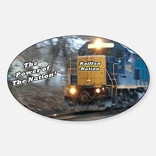 Railfan Nation Picture Decal