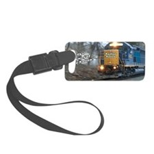 Railfan Nation Picture Luggage Tag