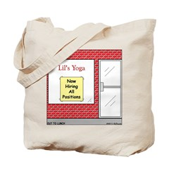 Yoga Now Hiring All Positions Tote Bag