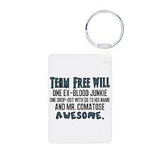 Team Free Will Keychains