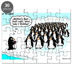 Penguin Mothers Day Puzzle
