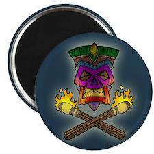 "Tiki Pirate I -col 2.25"" Magnet (10 pack)"
