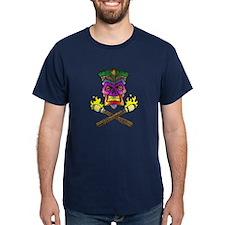 Tiki Pirate I -col T-Shirt