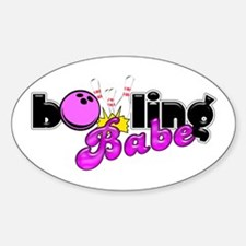 Bowling Babe Decal