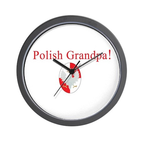 Polish Grandpa Wall Clock