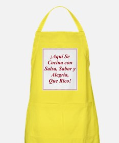Latin Spanish Cooking Apron Delantal Hispano