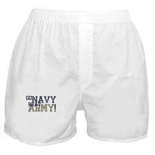 go NAVY beat ARMY Boxer Shorts