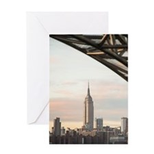 Empire State Building Greeting Cards