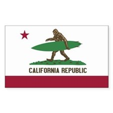 California Republic Bigfoot Decal