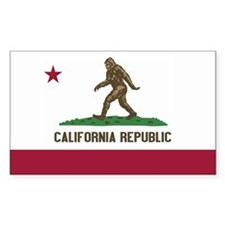 California Republic Bigfoot Decal