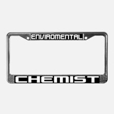 Environmental Chemist License Plate Frame