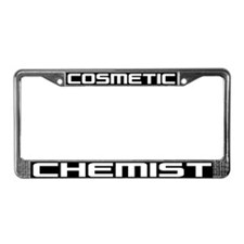 Cosmetic Chemist License Plate Frame