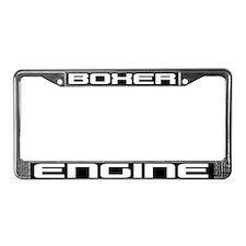 Boxer Engine License Plate Frame