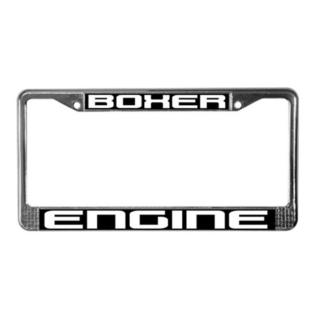 Boxer Engine License Plate Frame By Shopofspeed