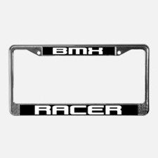 BMX Racer License Plate Frame