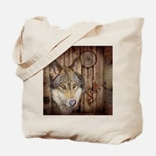 rustic western country native dream catch Tote Bag