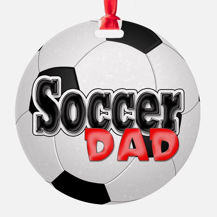 Soccer Dad Ornament