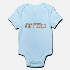 home is where the AIR FORCE sends us Body Suit