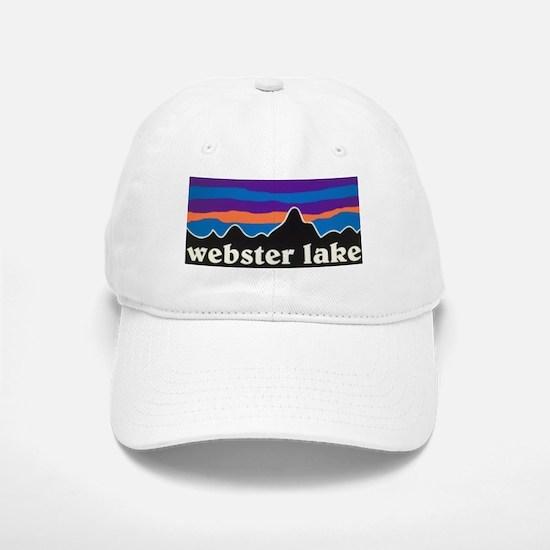 Webster Lake Mountains Baseball Baseball Baseball Cap