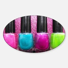 Bright Nail Polish Decal