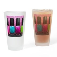 Bright Nail Polish Drinking Glass