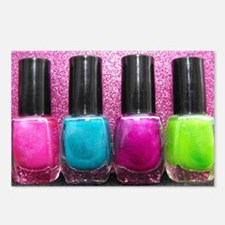 Bright Nail Polish Postcards (Package of 8)