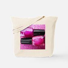 Pink Nail Polish Tote Bag