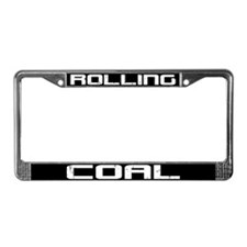 Rolling Coal License Plate Frame