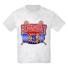 Baseball 5th Birthday T-Shirt