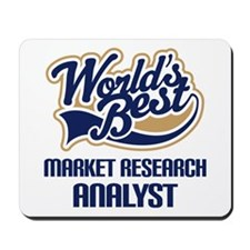 Market Research Analyst Mousepad