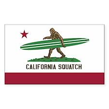 California Squatch Decal