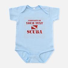 Personalized Scuba Infant Bodysuit