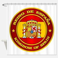 Spain Medallion Shower Curtain