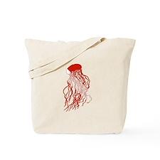 Jellyfish Diver Tote Bag