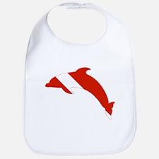 Dolphin Diver Bib