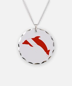 Dolphin Diver Necklace