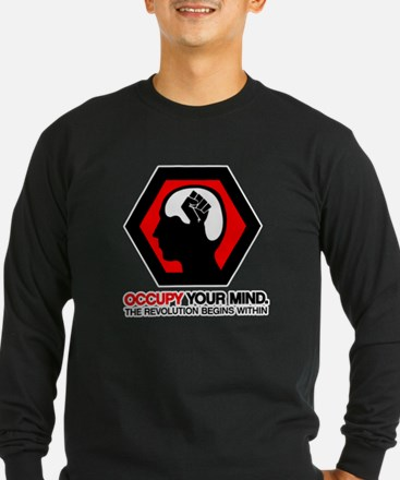 Anonymous 99% Occupy t-shirt Long Sleeve T-Shirt