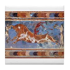 """Taureau Cavaliers a Knossos"" Coaster"