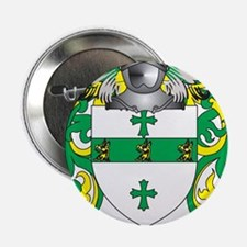 """Taberer Family Crest (Coat of Arms) 2.25"""" Button"""