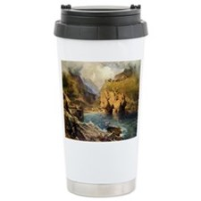 King Arthur's Castle, Off Tintagel Head Travel Mug