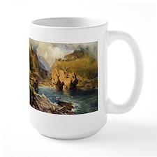 King Arthur's Castle, Off Tintagel Head Mugs