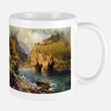 King Arthur's Castle, Off Tintagel Head Mugs