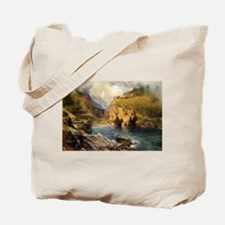 King Arthur's Castle, Off Tintagel Head Tote Bag