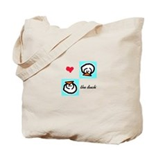 Love the Duck Tote Bag