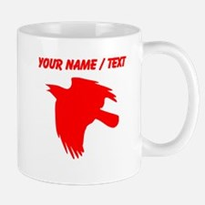 Custom Red Falcon Silhouette Mugs