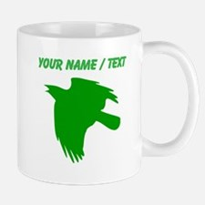 Custom Green Falcon Silhouette Mugs