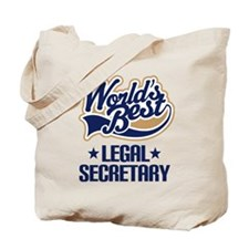 Legal Secretary (Worlds Best) Tote Bag